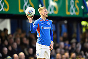 Ross McCrorie (15) of Portsmouth during the EFL Sky Bet League 1 match between Portsmouth and Ipswich Town at Fratton Park, Portsmouth, England on 21 December 2019.