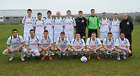 Galway United who played Cobh Ramblers in Cappa Park, knocknacarra Galway. Photo:Andrew Downes