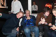 ROBERT PARGITER; LEEE BLACK CHILDERS; JOHN WINSTON; MADELEINE FARLEY, Drag Queens, Rent Boys, Pick Pockets, Junkies, Rockstars and Punks,, Leee Black Childers ,  book launch and exhibition opening. <br />  The Vinyl Factory Chelsea, Walton St. London. 5 December 2012.