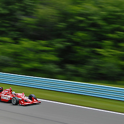 Dan Wheldon during practice for the 2009 Camping World Grand Prix at Watkins Glen International in Watkins Glen, NY.