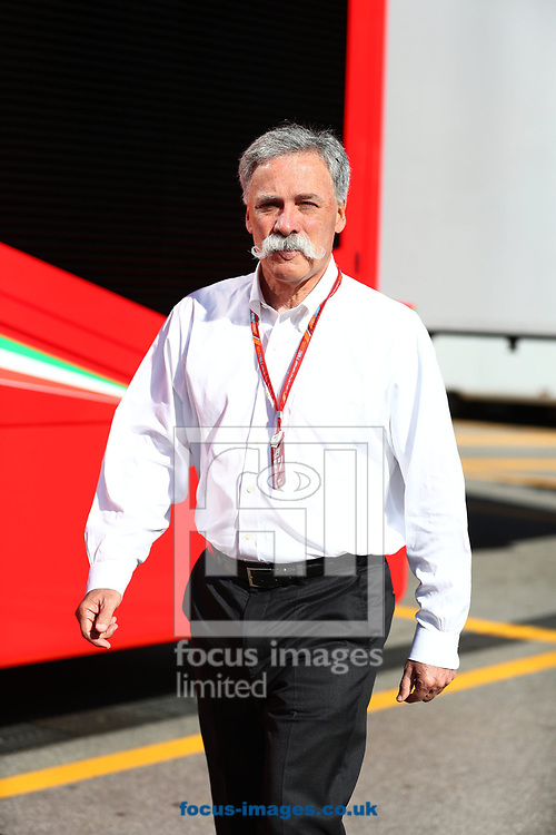 Chase Carey, CEO and Executive Chairman of the Formula One Group, during the Italian Formula One Grand Prix at Monza National Race Track, Monza, Italy.<br /> Picture by EXPA Pictures/Focus Images Ltd 07814482222<br /> 03/09/2017<br /> *** UK & IRELAND ONLY ***<br /> <br /> EXPA-EIB-170903-0044.jpg