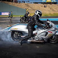 Todd Johnson (4807) on his Suzuki during Competition Bike qualifying at the Perth Motorplex.