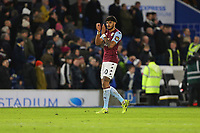 Football - 2019 / 2020 Premier League - Brighton & Hove Albion vs. Aston Villa<br /> <br /> Tyrone Mings of Aston Villa applauds the traveling fans after the final whistle at The Amex Stadium Brighton <br /> <br /> COLORSPORT/SHAUN BOGGUST