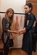 TARA ENNIS; BLAITHIN ENNIS, The Arthur Cox Irish Fashion Showcase 2015,  Irish based designers chosen to be part of this year's Arthur Cox Irish Fashion Showcases The Mall Galleries, London. 13 May 2015.