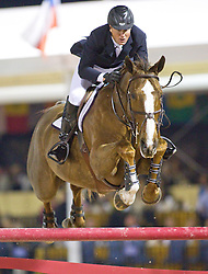 Ward Mclain (USA) - Sapphire<br /> Winter Equestrian Festival - Week IX <br /> Rolex World Cup Qualifier <br /> Wellington 2010<br /> © Hippo Foto - Cealy Tetly