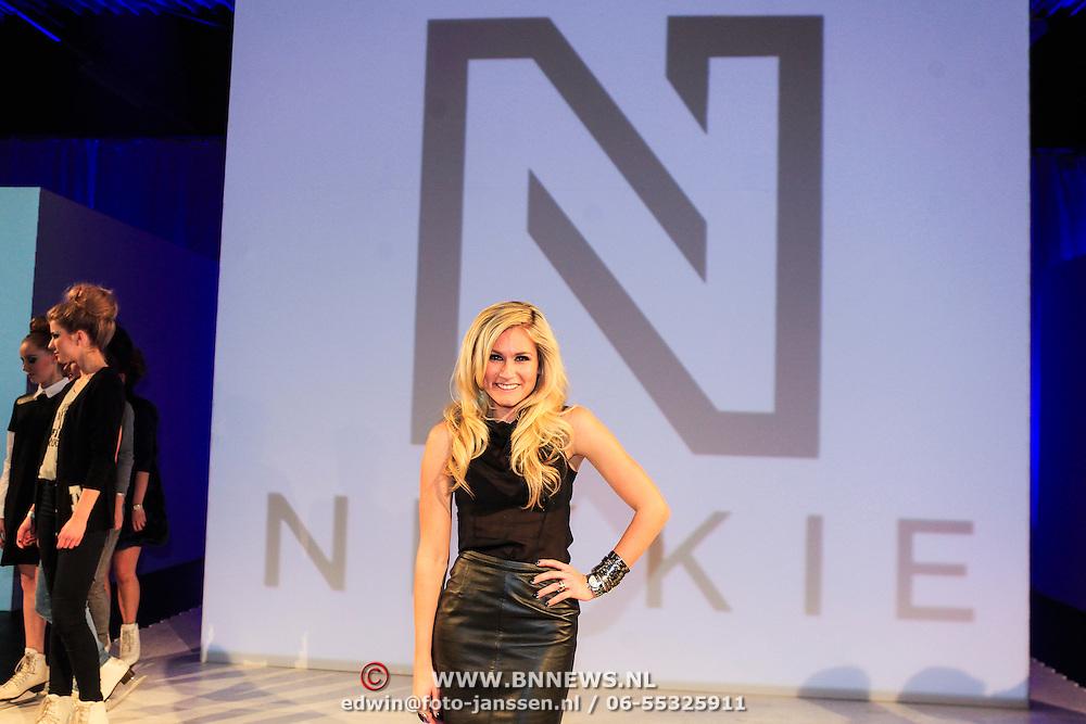 NLD/Amsterdam/20130205 - Modeshow Nikki Plessen 2013, Nikkie Plessen