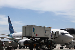April 28, 2017 - Tangerang, Banten, Indonesia - The new Terminal 3 at Soekarno-Hatta International Airport will be operated for International flight on May 1, 2017. The operational will be marked by first International flight by Garuda Indonesia Airline with route Jakarta-Singapore at 06:10 AM Indonesia time. (Credit Image: © Tubagus Aditya Irawan/Pacific Press via ZUMA Wire)