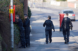 © under license to London News Pictures.  20/03/2011. Police search Drove Road in Swindon near the Town Centre today (20/03/2011) after a 22-year-old  Sian O'Callaghan mysteriously vanished while returning home from Suju nightclub on Saturday morning. Photo credit should read: LNP