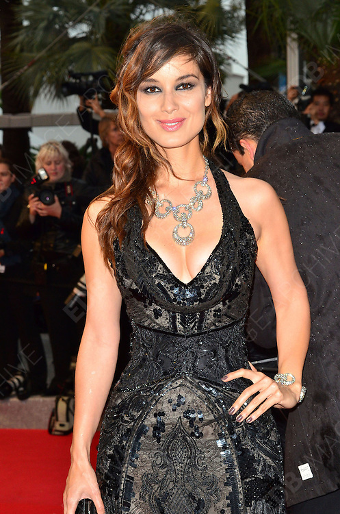 20.MAY.2012. CANNES<br /> <br /> BERENICE MARLOHE AT THE AMOUR PREMIERE IN CANNES, FRANCE.<br /> <br /> BYLINE: JOE ALVAREZ/EDBIMAGEARCHIVE.CO.UK<br /> <br /> *THIS IMAGE IS STRICTLY FOR UK NEWSPAPERS AND MAGAZINES ONLY*<br /> *FOR WORLD WIDE SALES AND WEB USE PLEASE CONTACT EDBIMAGEARCHIVE - 0208 954 5968*  *** Local Caption ***