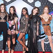 (VLNR) Eleanor Calder, Monica Geuze, Sandra Lambeck, Betty Autier en Sonya Esman