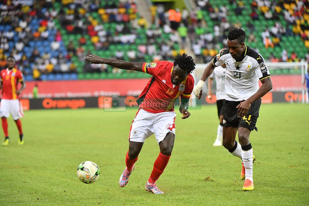 January 17, 2017 - Port Gentil, France - J. Boye Ghana vs M. Oloya Ouganda (Credit Image: © Panoramic via ZUMA Press)