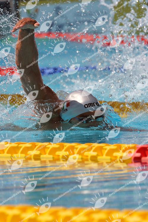 Filippo Magnini Italia 100m freestyle Men <br /> Roma 15/6/2013 Piscina del Foro Italico <br /> Nuoto 50mo trofeo Settecolli<br /> Settecolli 50th International swimming trophy <br /> Foto Andrea Staccioli Insidefoto