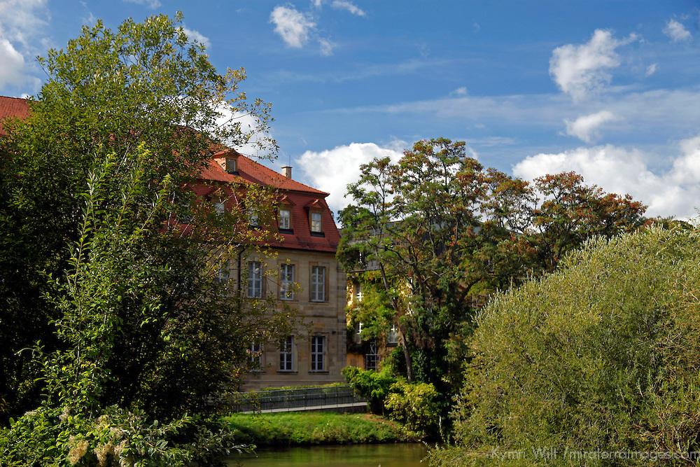 Europe, Germany, Bamberg. Bamberg on the Regnitz.