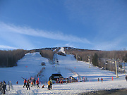 Great weather on the mountain. Spring skiing in feb?