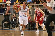 DESCRIZIONE : Torino Qualificazione Eurobasket 2009 Italia Bulgaria<br /> GIOCATORE : Giuseppe Poeta <br /> SQUADRA : Nazionale Italia Uomini<br /> EVENTO : Raduno Collegiale Nazionale Maschile <br /> GARA : Italia Bulgaria Italy Bulgaria<br /> DATA : 17/09/2008 <br /> CATEGORIA : palleggio contropiede <br /> SPORT : Pallacanestro <br /> AUTORE : Agenzia Ciamillo-Castoria/M.Marchi <br /> Galleria : Fip Nazionali 2008<br /> Fotonotizia : Torino Qualificazione Eurobasket 2009 Italia Bulgaria<br /> Predefinita :