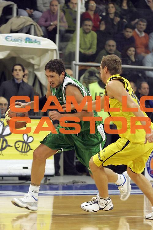 DESCRIZIONE : Scafati Lega A1 2007-08 Legea Scafati Air Avellino <br /> GIOCATORE : Alex Righetti<br /> SQUADRA : Air Avellino<br /> EVENTO : Campionato Lega A1 2007-2008<br /> GARA : Legea Scafati Air Avellino<br /> DATA : 01/12/2007<br /> CATEGORIA : Penetrazione<br /> SPORT : Pallacanestro <br /> AUTORE : Agenzia Ciamillo-Castoria/A.De Lise