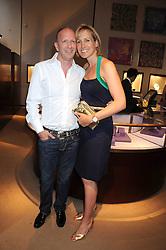 SIMON & SANTA SEBAG-MONTEFIORE  at a party to celebrate the publication of Sashenka by Simon Sebag-Montefiore held at Asprey, Bond Street, London on 1st July 2008.<br /><br />NON EXCLUSIVE - WORLD RIGHTS
