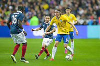 Filipe Luis  - 26.03.2015 - France / Bresil - Match Amical<br />