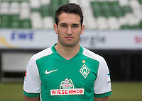 German Soccer Bundesliga 2015/16 - Photocall of Werder Bremen on 10 July 2015 in Bremen, Germany: Levin Oeztunali