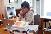 Cotes-d'Armor, France. April 26th 2011. .Nicolas Hulot, ecologist candidate to the 2012 french presidential elections..