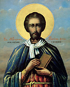 Justin Martyr, also known as just Saint Justin (AD 100–165), was an early Christian apologist, and is regarded as the foremost interpreter of the theory of the Logos in the 2nd century