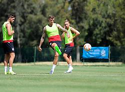 Aden Flint of Bristol City shoots  - Photo mandatory by-line: Joe Meredith/JMP - Mobile: 07966 386802 - 16/07/2015 - SPORT - Football - Albufeira -  - Pre-Season Training