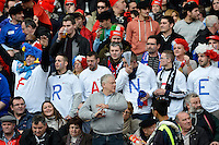 Rome, Italy -Supporters Francaise during Italia vs Francia race of the championship rugby SIX NATIONS played at the Olimpico in Rome.(Credit Image: © Gilberto Carbonari/).