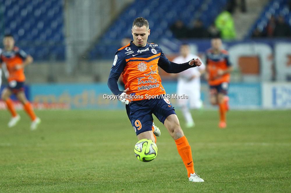 Kevin BERIGAUD - 07.02.2015 - Montpellier / Lille - 24eme journee de Ligue 1<br /> Photo : Andre Delon / Icon Sport