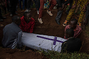 The burial of Emmanuel Cyuzuzo, 22, who passed away before receiving surgery to replace his aortic valve.<br /> <br /> Rheumatic heart disease is damage to one or more heart valves that stems from inadequately treated strep throat.
