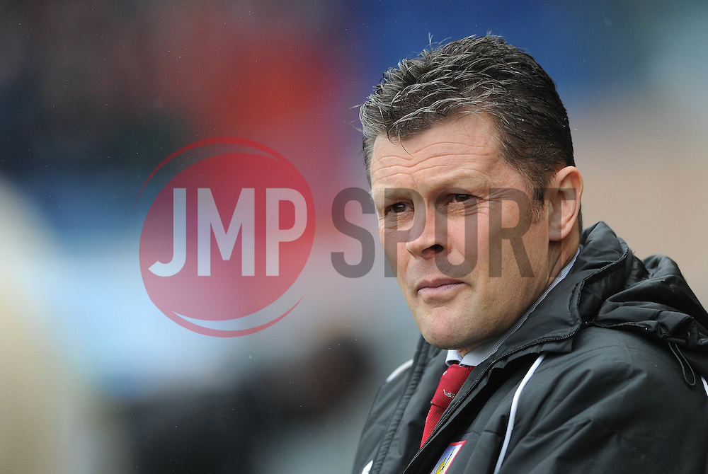Bristol City manager, Steve Cotterill - Photo mandatory by-line: Dougie Allward/JMP - Mobile: 07966 386802 - 03/04/2015 - SPORT - Football - Oldham - Boundary Park - Bristol City v Oldham Athletic - Sky Bet League One