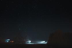Das Steirische Ennstal ist eine der Großlandschaften der Steiermark und umfasst den Mittellauf der Enns. Der politische Bezirk Liezen entspricht in etwa dem Steirischen Ennstal. Im Bild Schneekanonen mit dem Sternenhimmel im Hintergrund, aufgenommen am 29.12.2019, Schladming, Oesterreich // The Styrian Enns Valley is one of the major landscapes in Styria and includes the middle course of the Enns. The political district of Liezen roughly corresponds to the Styrian Enns Valley. In the picture snow cannons with the starry sky in the background, Austria on 2019/12/29. EXPA Pictures © 2020, PhotoCredit: EXPA/ Florian Schroetter