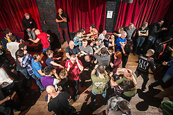 "The Institute of Krav Maga Scotland had renowned Conflict Management expert and best selling author, Rory Miller, sharing his unique insight on the dynamics of violence, scenario based training, at an ""In The Club"" seminar based at The Buff Club, in Glasgow City Centre. The seminar brings Krav Maga training outwith the confines of the gym and into a real nightclub/bar."