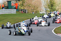 #54 Douglas CROSBIE Van Diemen JL013K during Avon Tyres Formula Ford 1600 National & Northern Championship - Post 89 - Race 3  as part of the BRSCC Oulton Park Season Opener at Oulton Park, Little Budworth, Cheshire, United Kingdom. April 09 2016. World Copyright Peter Taylor/PSP. Copy of publication required for printed pictures.  Every used picture is fee-liable.