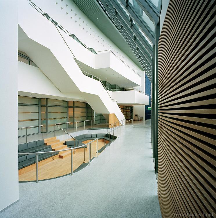 Askja, University of Iceland. The building is for Biology, Geology, General physical geology, Glacial geology and more. Architect is Dr. Maggi J&oacute;nsson.<br /> <br /> Askja n&aacute;tt&uacute;rufr&aelig;&eth;ah&uacute;s H&aacute;sk&oacute;la &Iacute;slands, h&yacute;sir l&iacute;ffr&aelig;&eth;i, jar&eth;fr&aelig;&eth;i, jar&eth;e&eth;lisfr&aelig;&eth;i, landfr&aelig;&eth;i og fer&eth;am&aacute;lafr&aelig;&eth;i, Jar&eth;e&eth;lisfr&aelig;&eth;istofu, Jar&eth;- og landfr&aelig;&eth;istofu, L&iacute;ffr&aelig;&eth;istofnun og Norr&aelig;nu eldfjallast&ouml;&eth;ina.&amp;#xD;Arkitekt h&uacute;ssins er Dr. Maggi J&oacute;nsson.