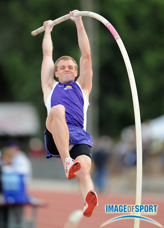 May 24, 2008; Walnut, CA, USA; Dan Tierney of Ashland was second in the pole vault at 17-0 (5.18m) in the NCAA Division II Track & Field Championships at Mt. San Antonio College's Hilmer Lodge Stadium.