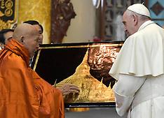 Pope Francis Visits Myanmar - 30 Nov 2017