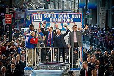 NY Giants Super Bowl 46 Victory Parade