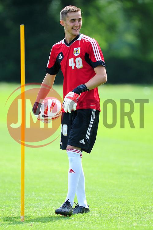 Bristol City's Kleton Perndreu - Photo mandatory by-line: Dougie Allward/JMP - Tel: Mobile: 07966 386802 28/06/2013 - SPORT - FOOTBALL - Bristol -  Bristol City - Pre Season Training - Npower League One