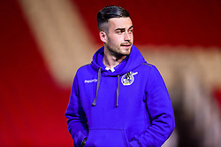 Michael Kelly of Bristol Rovers arrives at St James Park prior to kick off - Mandatory by-line: Ryan Hiscott/JMP - 13/11/2018 - FOOTBALL - St James Park - Exeter, England - Exeter City v Bristol Rovers - Checkatrade Trophy