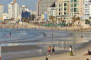 Israel, Tel Aviv drum beach, Beach party