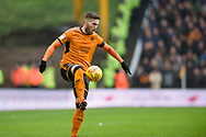 Matt Doherty of Wolverhampton Wanderers in action during the EFL Sky Bet Championship match between Wolverhampton Wanderers and Nottingham Forest at Molineux, Wolverhampton, England on 20 January 2018. Photo by Darren Musgrove.