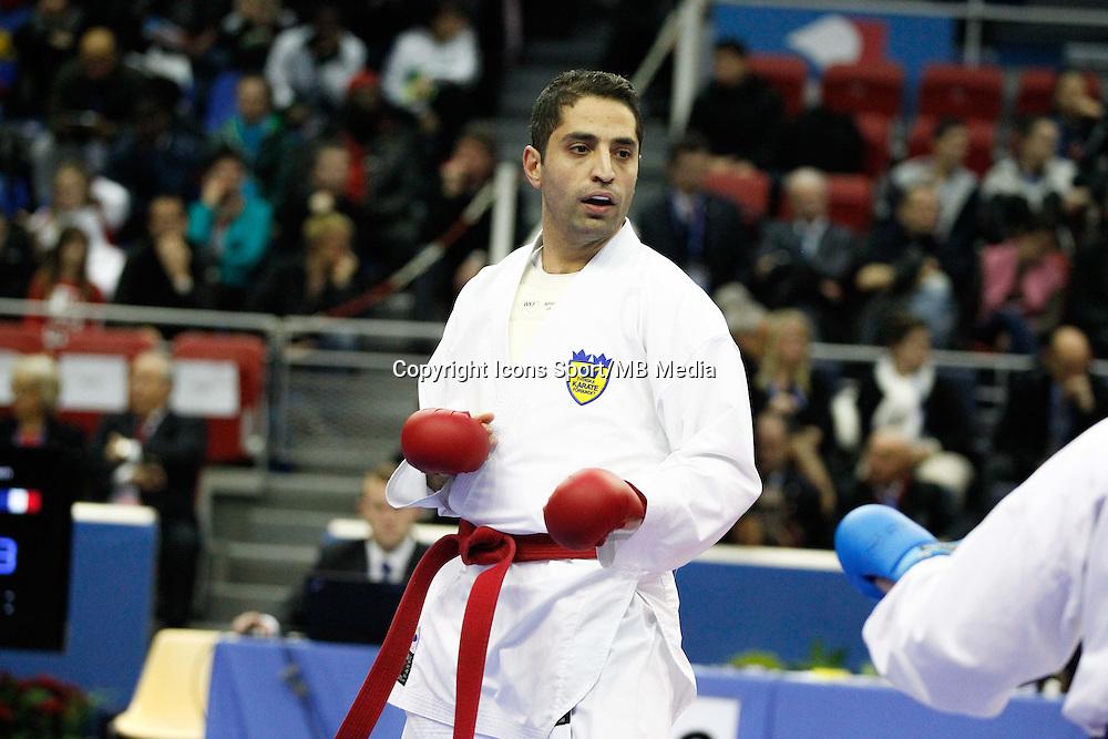 Celal CELPLI - 24.01.2015 - Open de Paris - Karate Premier League -<br />Photo : Johnny Fidelin / Icon Sport
