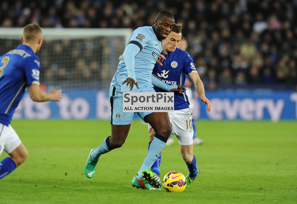 Kompany and King compete for the ball (c) Simon Kimber | SportPix.org.uk