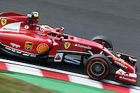 Kimi Raikkonen (FIN) Ferrari F14-T.<br /> Japanese Grand Prix, Friday 3rd October 2014. Suzuka, Japan.