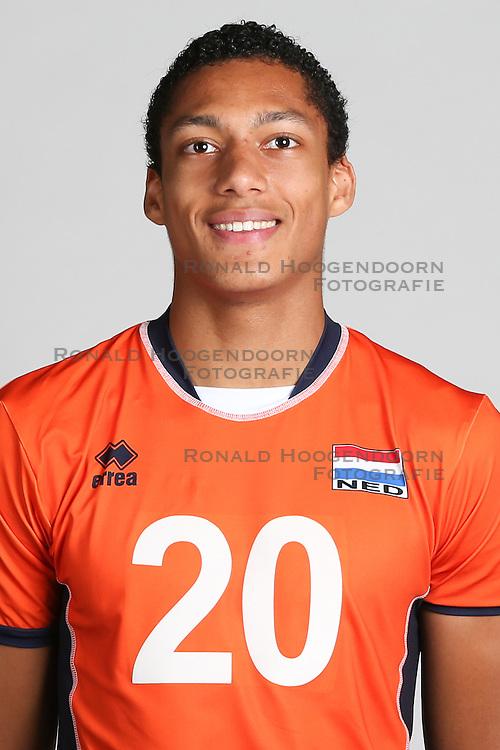 20160516 NED: Selectie Nederlands volleybal team mannen, Arnhem<br />Fabian Plak