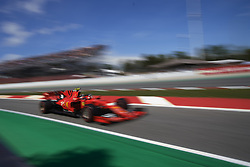 May 11, 2019 - Barcelona, Catalonia, Spain - Charles Leclerc of Monaco driving the (16) Scuderia Ferrari Mission Winnow SF90 during qualifying for the F1 Grand Prix of Spain at Circuit de Barcelona-Catalunya on May 11, 2019 in Barcelona, Spain. (Credit Image: © Jose Breton/NurPhoto via ZUMA Press)