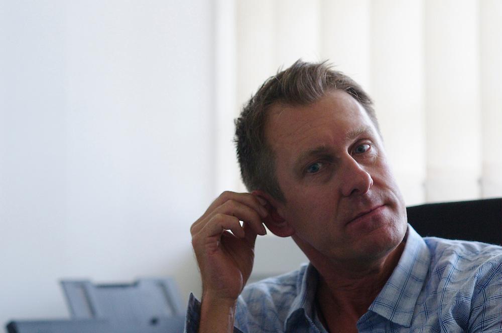 Paul Watson of the 1987 ANC Halfords Tour de France team
