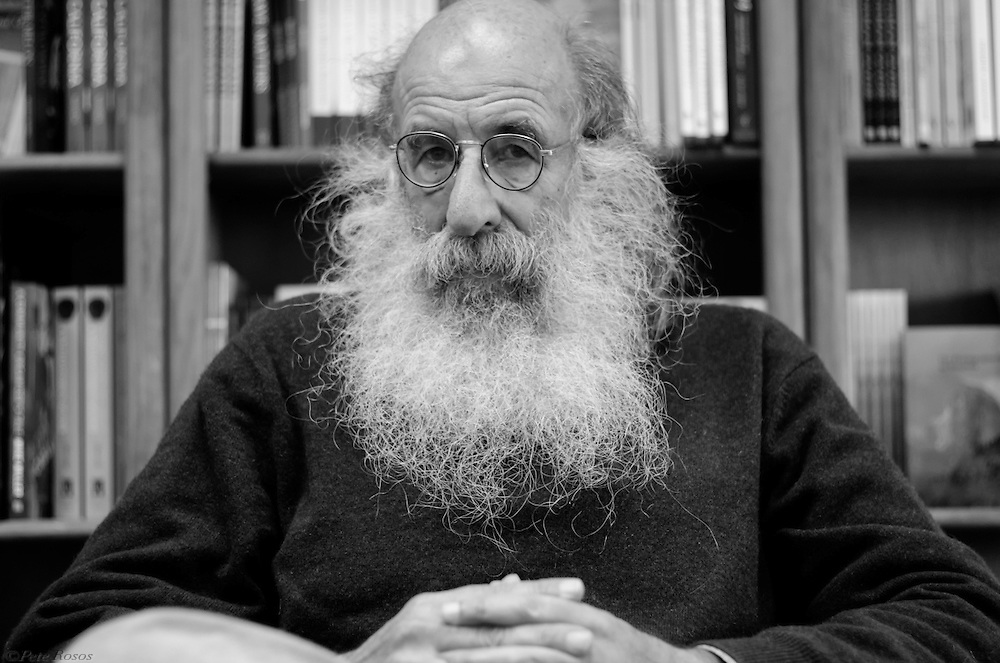 Founder of local publishing house Heyday Books Malcolm Margolin. Shot for berkeleyside.com