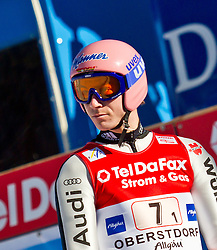 06.02.2011, Heini Klopfer Skiflugschanze, Oberstdorf, GER, FIS World Cup, Ski Jumping, Teamwettbewerb, Finale, im Bild Michael Neumayer (GER) , during ski jump at the ski jumping world cup Trail round in Oberstdorf, Germany on 06/02/2011, EXPA Pictures © 2011, PhotoCredit: EXPA/ P. Rinderer