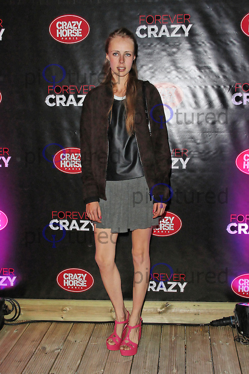 LONDON - SEPTEMBER 19: Edie Campbell attended the premiere of 'Crazy Horse Presents Forever Crazy' at The Crazy Horse, London, UK. September 19, 2012. (Photo by Richard Goldschmidt)